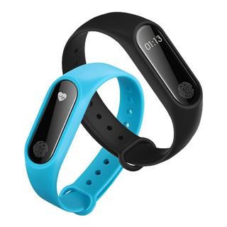 Vòng đeo tay thông minh Smart M2 theo dõi sức khỏe, đo nhịp tim (Đen)