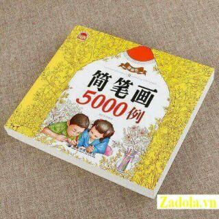 Bộ sách tô màu 5000 hình