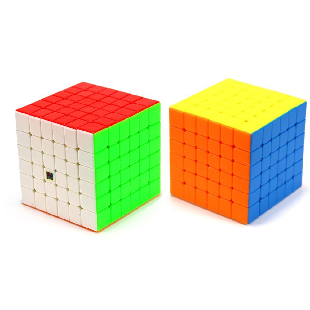 Rubik 6x6x6 không viền MF6 - Rubik 6x6x6 Mofang Jiaoshi MF6 stickerless