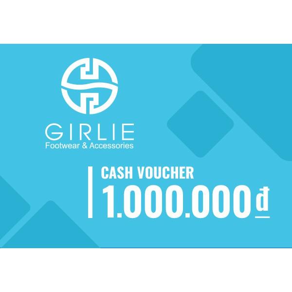 Toàn quốc [Evoucher] Phiếu quà tặng Girlie 1000k