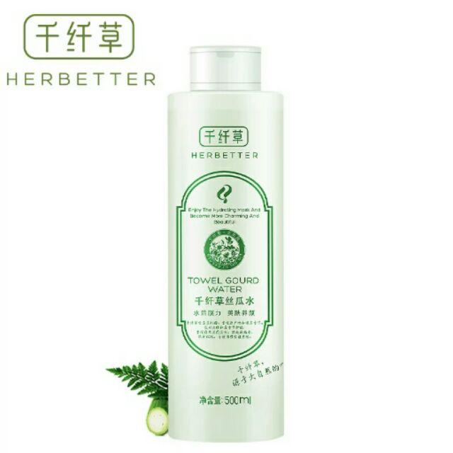 Herbetter - Toner Mướp cân bằng cấp nước