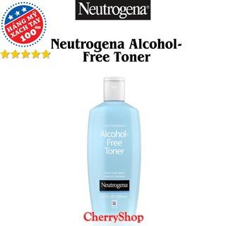 [Hàng USA] Nước Hoa Hồng Không Cồn Neutrogena Alcohol Free Toner (250ml) thumbnail