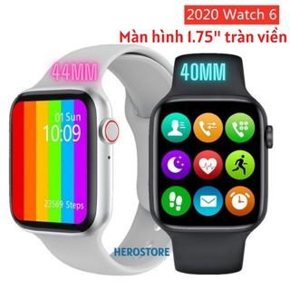 [Mã ELMS5 giảm 7% đơn 300K] Đồng Hồ Thông Minh Watch 6 Series 6 W26 bluetooth 5.0 Theo dõi sức khỏe Kháng nước IP68