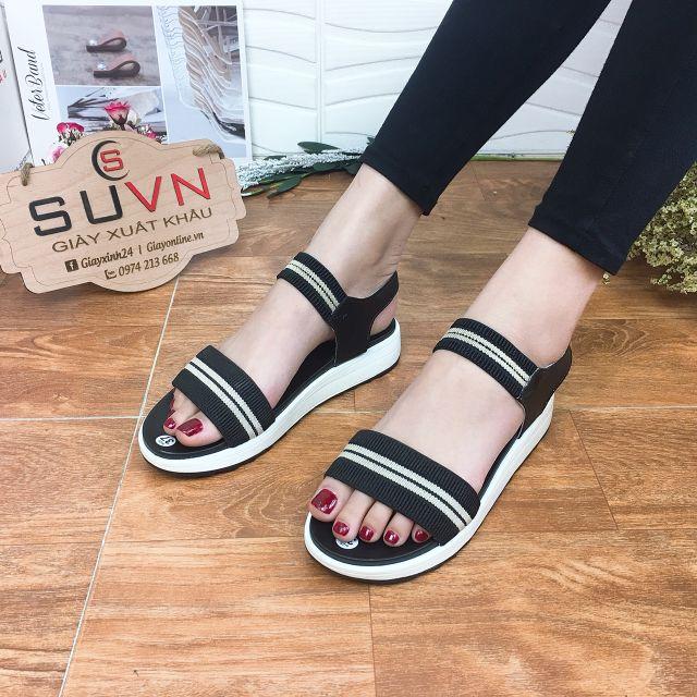 Sandal xuồng thấp quai chun