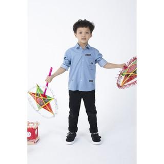 [Mã WABRIVY1553 giảm 50k đơn 0Đ] IVY moda áo sơ mi bé trai MS 17K0889 thumbnail
