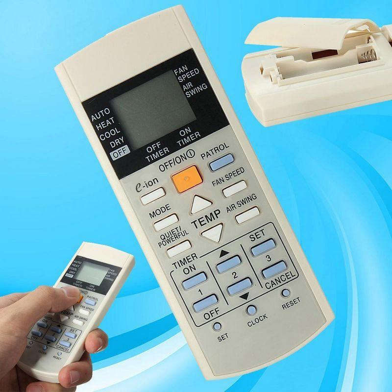 Air Conditioner Remote Control for Panasonic A75C2913 CS-E21EKU CS-E9EKU CU-E12E gogoxpmall