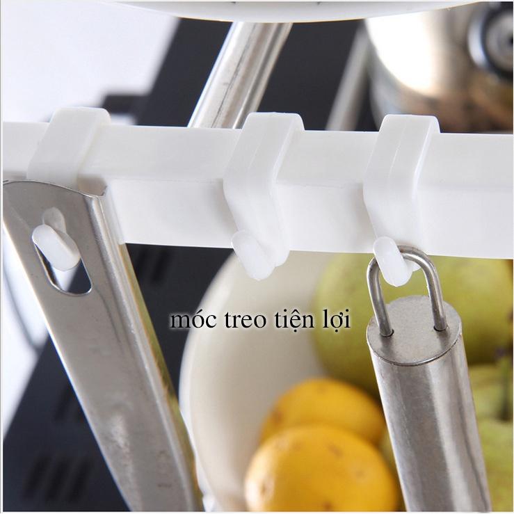 Kệ để đồ nhà bếp - Kệ để đồ 2 tầng đa năng TELESCOPIC chiều dài điều chỉnh linh hoạt (K2T)