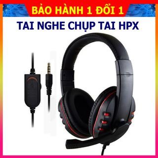 Tai nghe chụp tai  Headphone HPX âm thanh trung thực, micro đàm thoại xoay đa hướng  phù hợp cho các trò chơi đỉnh cao