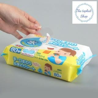[HOT!!!HOT] Giấy ướt Kyowa 80 tờ- Hàng Nhật an toàn và giữ ẩm cho bé -The TOPKID Shop