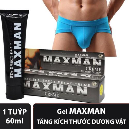 Gel MAXMAN Hỗ Trợ Tăng Kích Thước Dương Vật