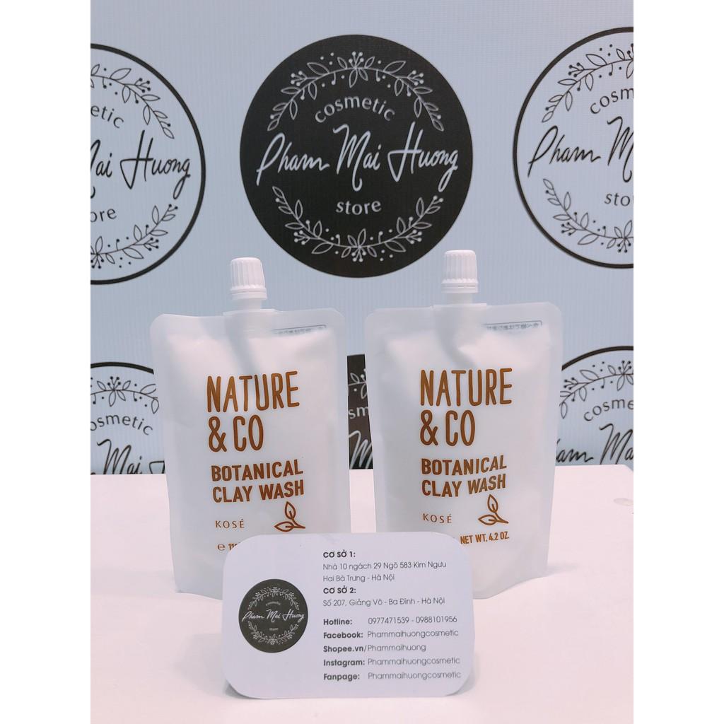 Sữa rửa mặt Nature & Co Clay Wash dạng túi - 2390556 , 1242412608 , 322_1242412608 , 295000 , Sua-rua-mat-Nature-Co-Clay-Wash-dang-tui-322_1242412608 , shopee.vn , Sữa rửa mặt Nature & Co Clay Wash dạng túi