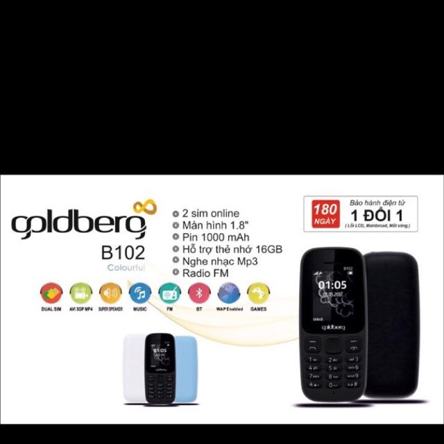 Điện thoại B102 mẫu nokia 105 2 sim màn hình màu 1.8inch nghe nhac nghe Fm bảo hành 12 tháng - 3067528 , 1298309321 , 322_1298309321 , 399000 , Dien-thoai-B102-mau-nokia-105-2-sim-man-hinh-mau-1.8inch-nghe-nhac-nghe-Fm-bao-hanh-12-thang-322_1298309321 , shopee.vn , Điện thoại B102 mẫu nokia 105 2 sim màn hình màu 1.8inch nghe nhac nghe Fm bảo