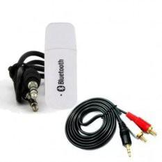 Bộ USB Bluetooth kết nối Loa Thường thành loa không dây (Đen) + Jack chuyển 3.5 sang AV - 3557926 , 1285682436 , 322_1285682436 , 59000 , Bo-USB-Bluetooth-ket-noi-Loa-Thuong-thanh-loa-khong-day-Den-Jack-chuyen-3.5-sang-AV-322_1285682436 , shopee.vn , Bộ USB Bluetooth kết nối Loa Thường thành loa không dây (Đen) + Jack chuyển 3.5 sang AV