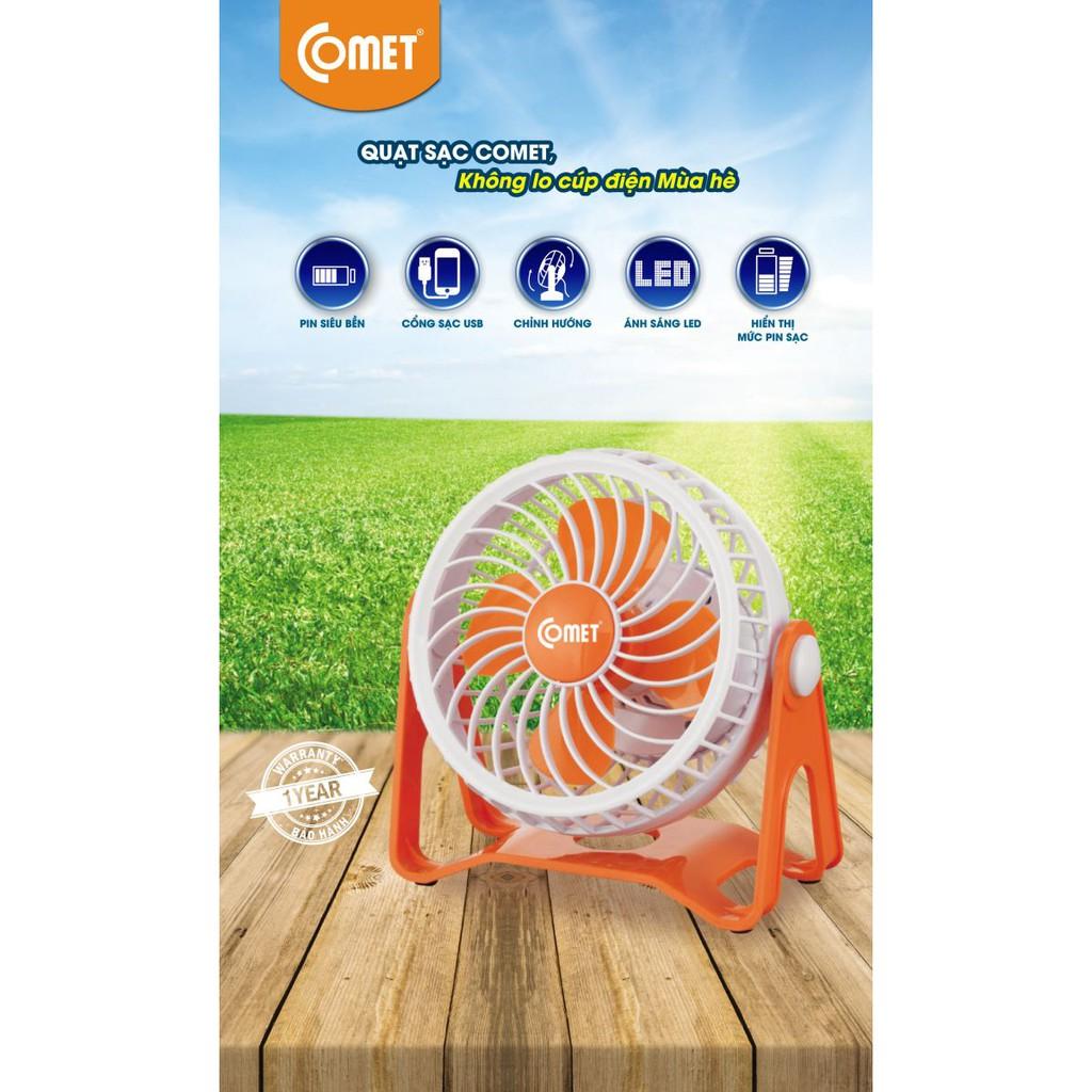 Quạt Sạc Mini COMET CRF0105 - 3323939 , 436121418 , 322_436121418 , 287000 , Quat-Sac-Mini-COMET-CRF0105-322_436121418 , shopee.vn , Quạt Sạc Mini COMET CRF0105
