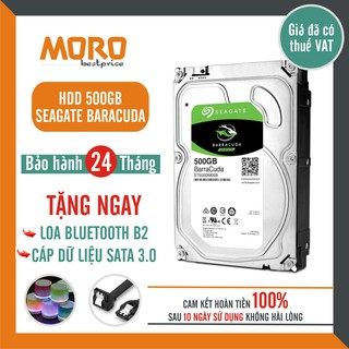 [Mã ELMS05 giảm 5% đơn 300K] Ổ cứng HDD Seagate Barracuda 500GB - Bảo hành chính hãng 24 tháng