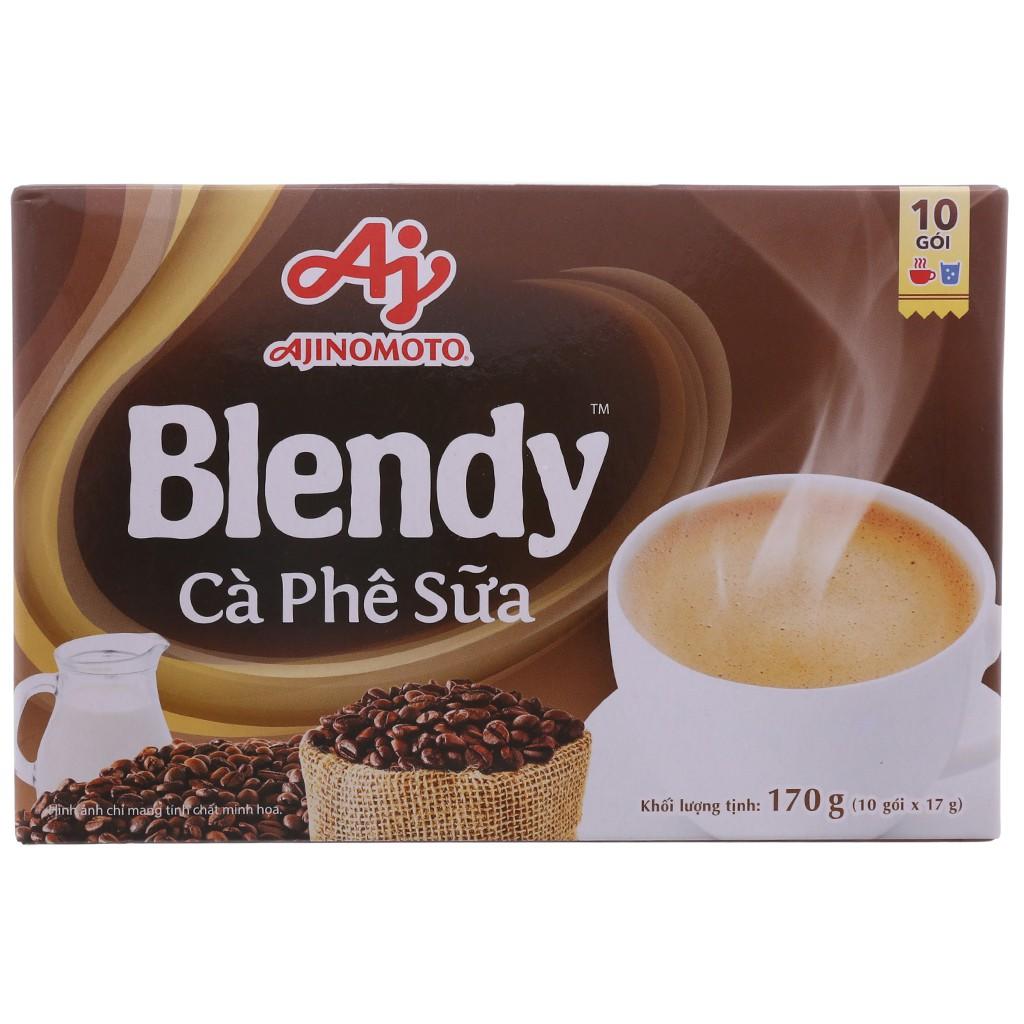 Cà phê sữa hòa tan Blendy 170g (17g x 10 gói) - 14546284 , 2461084745 , 322_2461084745 , 35000 , Ca-phe-sua-hoa-tan-Blendy-170g-17g-x-10-goi-322_2461084745 , shopee.vn , Cà phê sữa hòa tan Blendy 170g (17g x 10 gói)