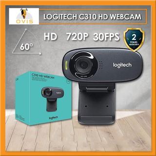 [BH 24 THÁNG] Webcam Máy Tính Logitech C310 Gọi Video Trực Tuyến HD720, Nhận Diện Khuôn Mặt, Lọc Tiếng Ồn