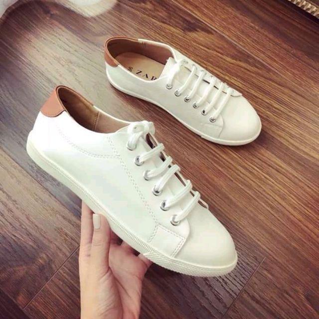 Giày thể thao nữ zara trắng hot - 3093950 , 1014324417 , 322_1014324417 , 165000 , Giay-the-thao-nu-zara-trang-hot-322_1014324417 , shopee.vn , Giày thể thao nữ zara trắng hot