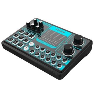 X9 MINI Computer External Sound Card Repair Tone Mixer Suitable for Home Computer Recording, Live Broadcast