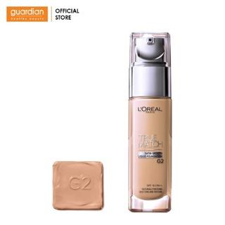 Kem nền mịn da dạng lỏng L Oreal Paris True Match Liquid Foundation (30ml) Tông G2 Gold Porcelain