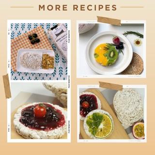 Hình ảnh Bánh gạo lứt ăn kiêng GUfoods (510g = 54 bánh) - Các vị Yến mạch, Huyết rồng, Tím than, Mix 3 vị, Hạt chia và Hạt quinoa-4