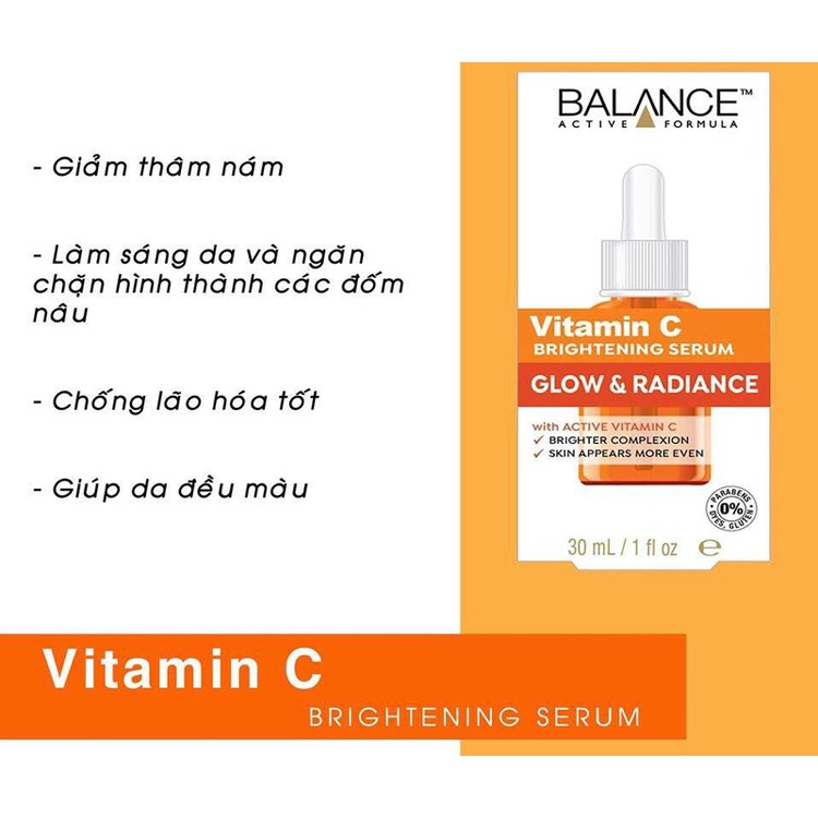 Tinh Chất Dưỡng Da Balance Active Formula Serum 30ml