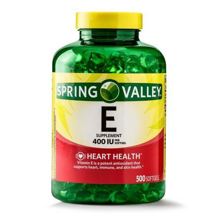 Viên uống đẹp da Spring Valley Vitamin E 400 IU (500 Viên) - 2434449 , 841037335 , 322_841037335 , 400000 , Vien-uong-dep-da-Spring-Valley-Vitamin-E-400-IU-500-Vien-322_841037335 , shopee.vn , Viên uống đẹp da Spring Valley Vitamin E 400 IU (500 Viên)