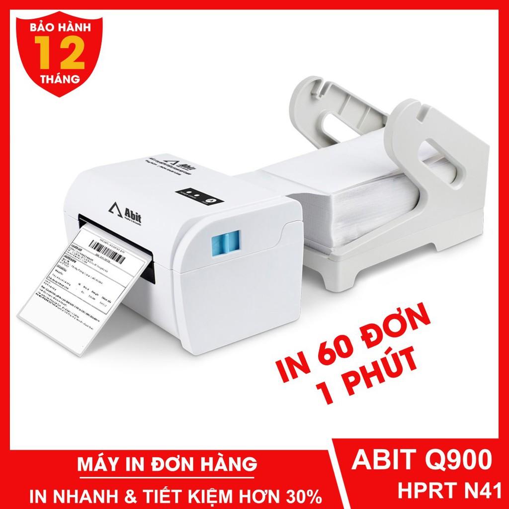 Máy in đơn hàng TMĐT ABIT Q900 - HPRT N41 in phiếu giao hàng, Tem vận chuyển và các loại tem nhiệt, tem nhãn Minicode