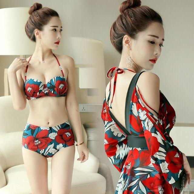 Bikini áo tắm kèm váy áo khoác ngoài thích hợp đi bơi, đi biển du lịch - 2935335 , 979246526 , 322_979246526 , 359000 , Bikini-ao-tam-kem-vay-ao-khoac-ngoai-thich-hop-di-boi-di-bien-du-lich-322_979246526 , shopee.vn , Bikini áo tắm kèm váy áo khoác ngoài thích hợp đi bơi, đi biển du lịch