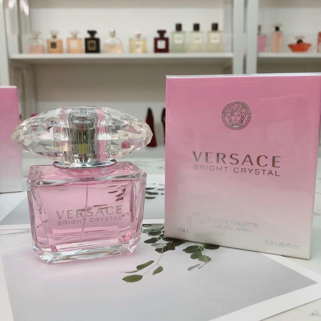 Nước Hoa VERSACE Bright Crystal Full Seal 90ml Nước Hoa Nữ Hàng Chính Hãng