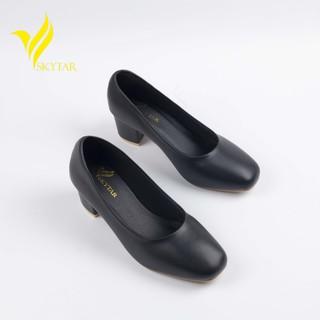 Skytar-G25 -giày cao gót mũi vuông công sở