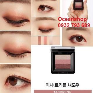 Phấn Mắt 3 Màu Đẹp Hoàn Hảo Missha The Style Triple Shadow về hàng SALE 50%