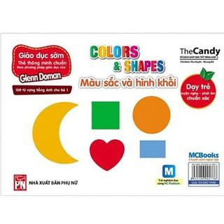 Flashcard - Dạy Trẻ Theo Phương Pháp Glenn Doman – Màu Sắc Và Hình Khối - MCBooks