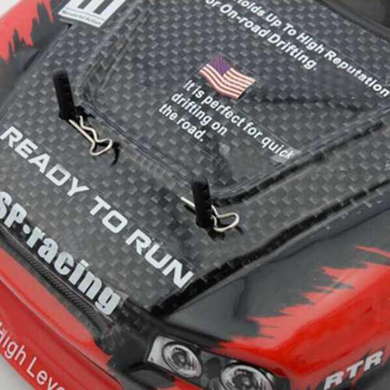 Set 100 vỏ xe hơi bằng thép không gỉ cho mô hình xe hơi HSP Redcat 02063 tỉ lệ 1...