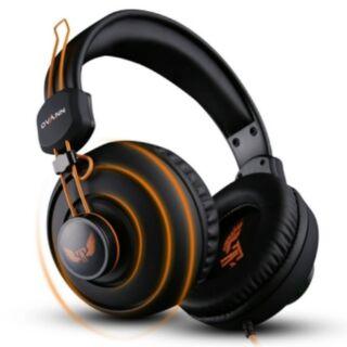 Tai nghe chụp tai chuyên game Ovann X7 (cam phối đen)