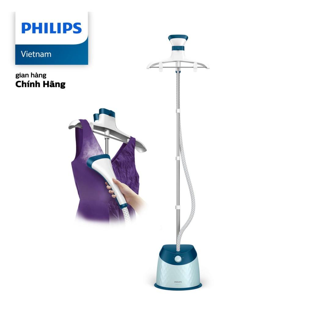Bàn ủi hơi nước đứng Philips GC518 (Xanh) - Hãng phân phối chính thức, Giá  tháng 10/2020