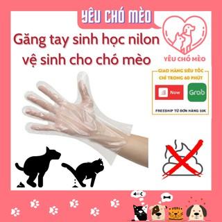 Hộp găng tay sinh học vệ sinh phân cho chó mèo sạch sẽ, tiện dụng thumbnail