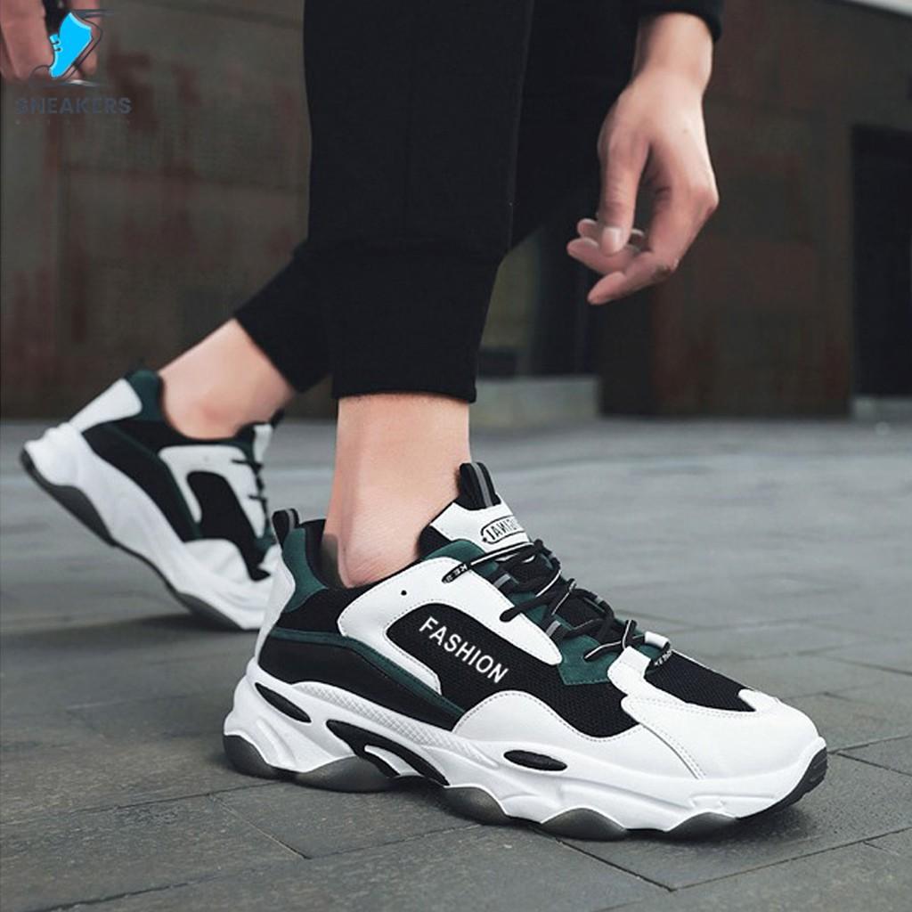 Giày Thể Thao Nam Chính Hãng - Giày Sneaker MS25 🎁+Tặng Kèm Tất Khử Mùi Cao Cấp