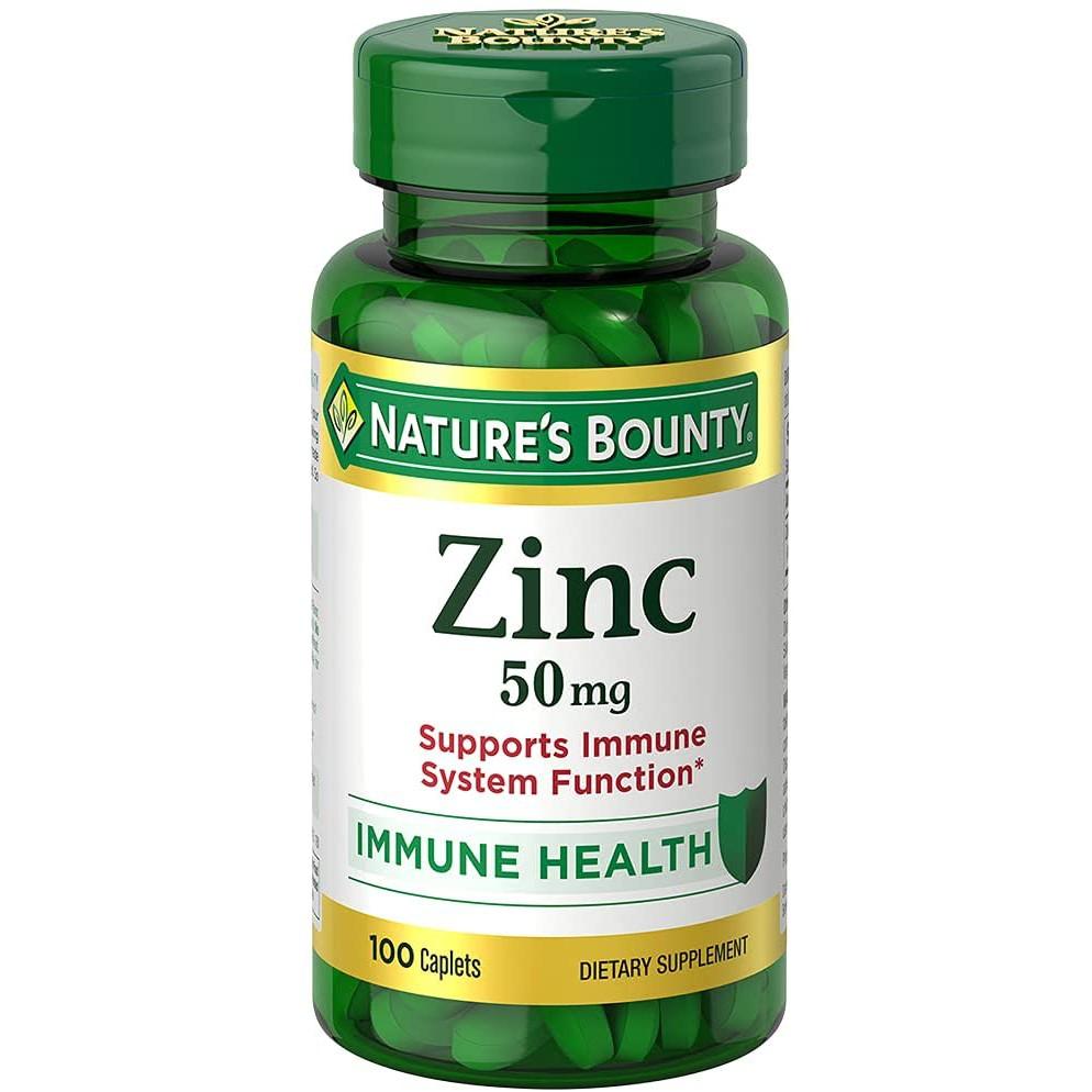 Nature's Bounty Zinc 50mg 100 viên