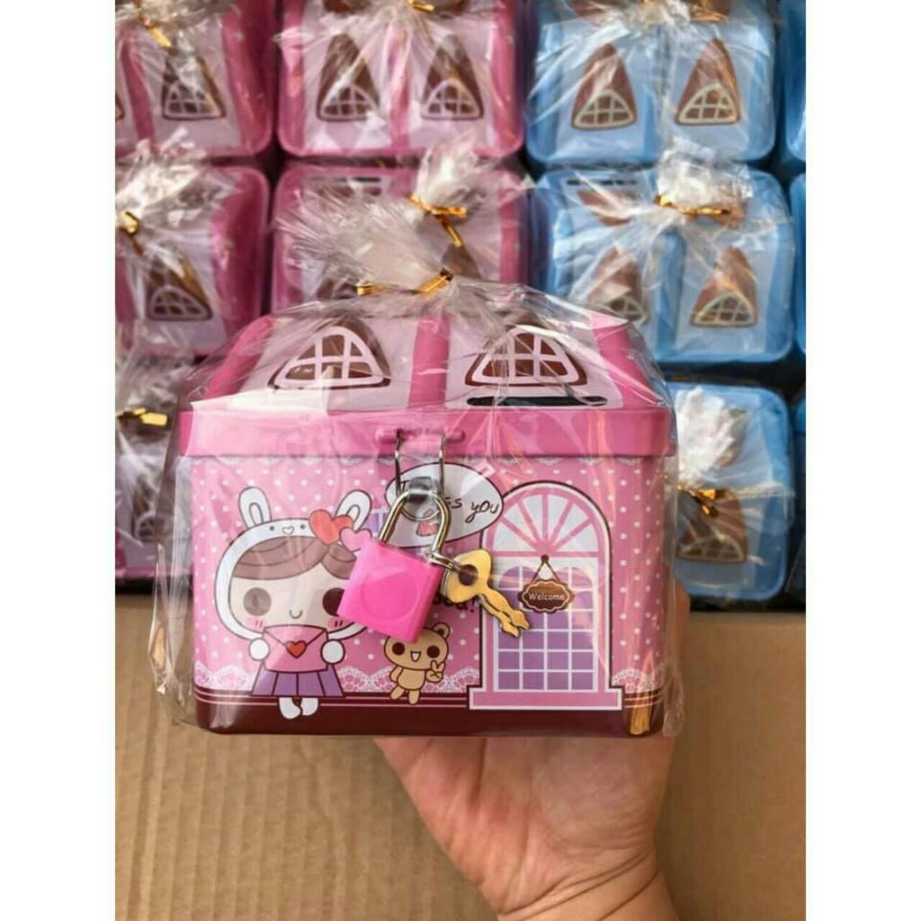 Két sắt điện tử mini, thông minh quà tặng dành cho bé.yêu