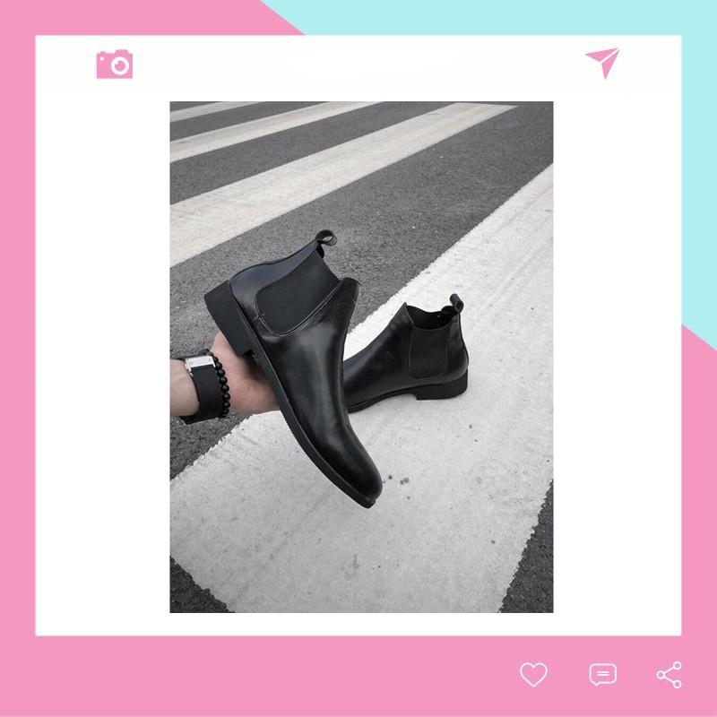 Giày Boot BT28 Nam Tăng Chiều Cao Cao Cấp