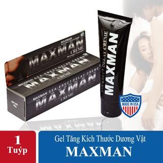 [HÀNG USA] Gel Maxman 60 ml Tăng Kích Thước Dương Vật, Bôi Trơn, Kéo Dài Thời Gian Quan Hệ.