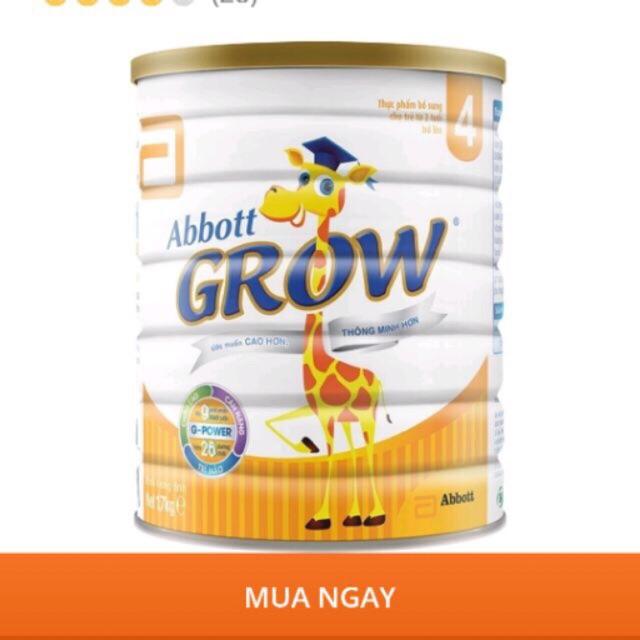 Sữa Abbott Grow 4 900G thumbnail
