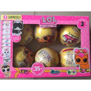 Trứng LOL thú cưng – hộp 6 trứng – HK 6190
