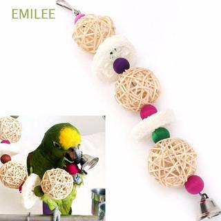 Decorative Pet Supplies Bird Wood Rattan Ball Parrot Cage Toy