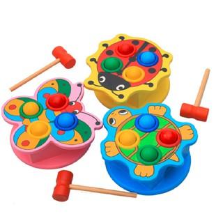 Bộ đập bóng hình con vật đồ chơi giáo dục