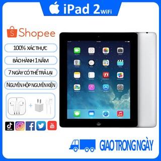 máy tính bảng ipad 2 Chính Hãng Apple Bản Wifi 16G/32G Quốc tế; Bảo hành 12 tháng