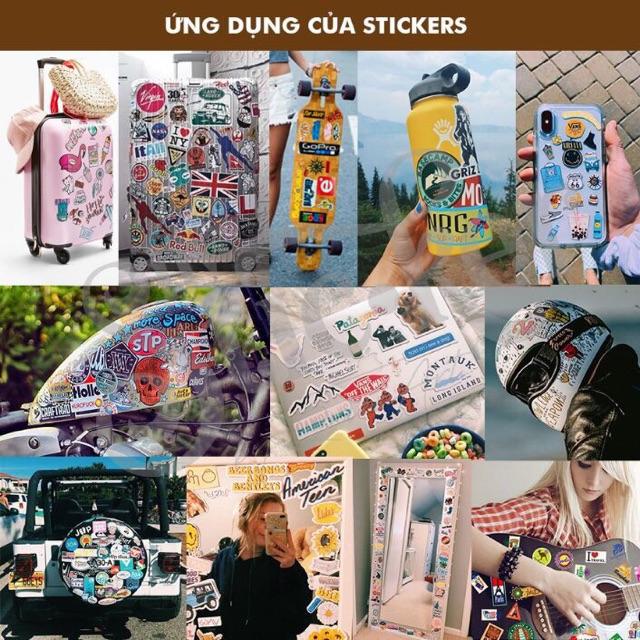 Sticker dán trang trí harley quinn chống thấm nước