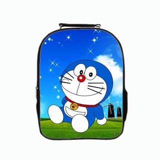 [Mã FAMALLT5 giảm 15% đơn 150K] Balo thời trang TROY 02 ngăn in hình Doremon ngồi bên cối xay gió thumbnail