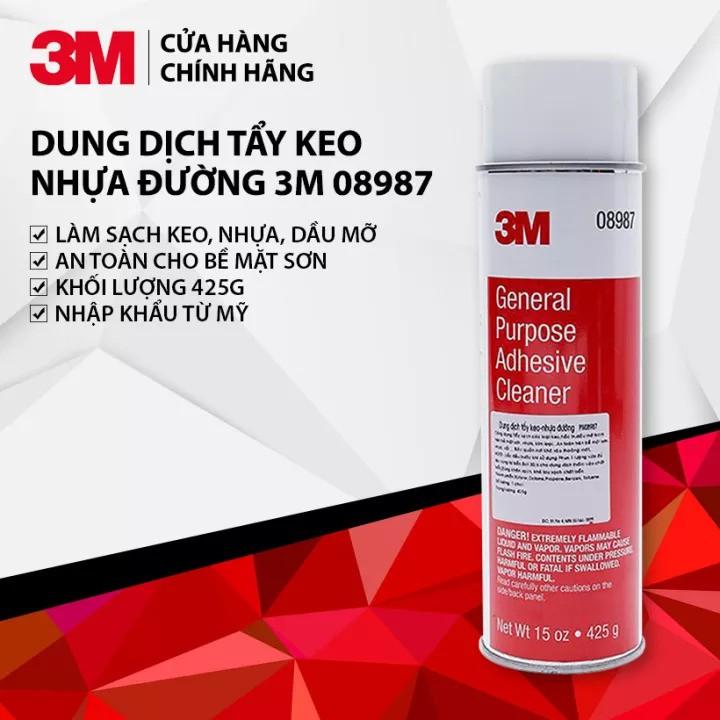 [RẺ VÔ ĐỊCH] Xịt Tẩy Keo - Tẩy Nhựa Đường - Tẩy Đa Năng General Purpose Adhesive Cleaner 3M 08987